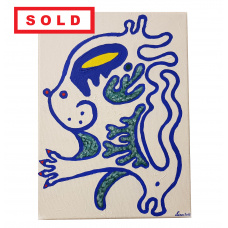 Blue Cat - SOLD
