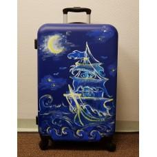 Custom painted cabin bag