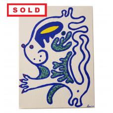 Blue Cat - SOLD
