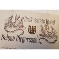Diplomas for Marks Municipality