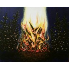 Forest fireplace - SOLD